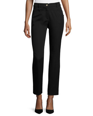 J501 Cropped Straight Leg Jeans by Escada