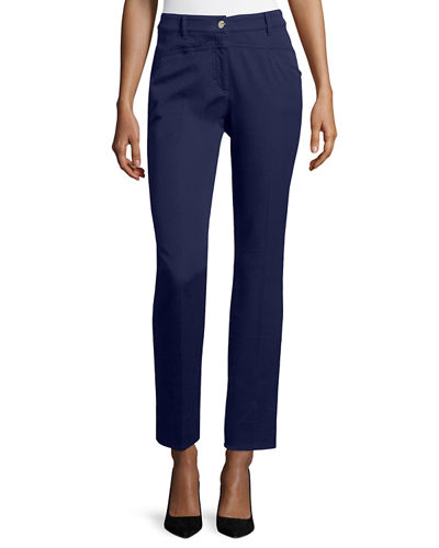 J501 Cropped Straight-Leg Jeans