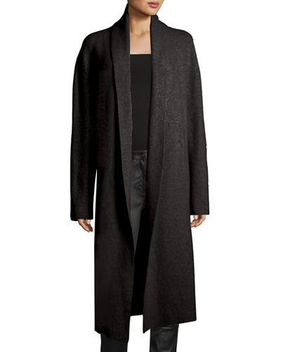 Naido Brushed Stretch Cashmere Midi Cardigan