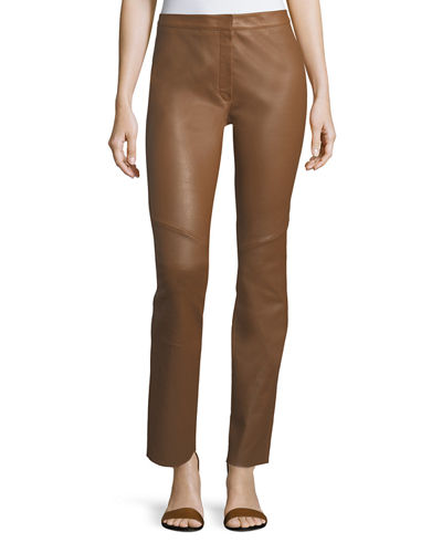 Lakera Leather Slim Pants