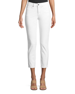 Mid Rise Straight Leg Jeans by Escada