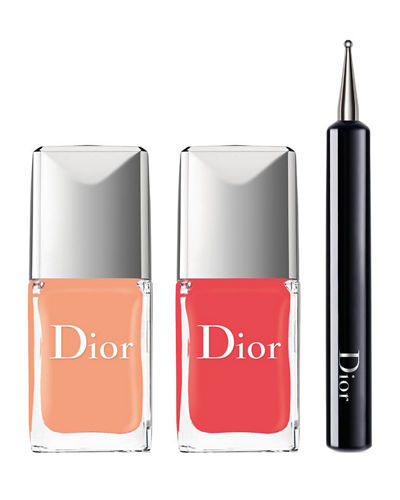 Limited Edition Dior Vernis Polka Dots Colour & Dots Manicure Kit - ...