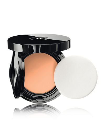 <b>VITALUMI&#200RE AQUA </b><br>FRESH & HYDRATING CREAM COMPACT SUNSCREEN MAKEUP BROAD SPECTRUM SPF 15