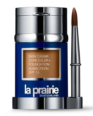 La Prairie Skin Caviar Concealer and Foundation Sunscreen SPF 15, 1.0 oz. / 30 ml