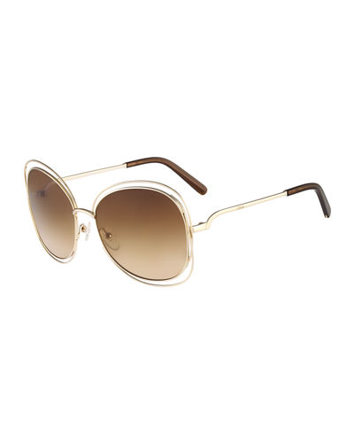 Carlina Butterfly-Frame Sunglasses