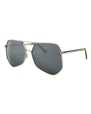 large aviator sunglasses  Grey Ant Megalast Large Aviator Sunglasses