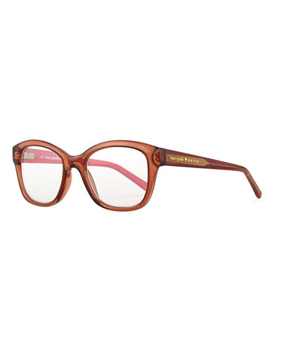 kate spade new york tanya translucent readers