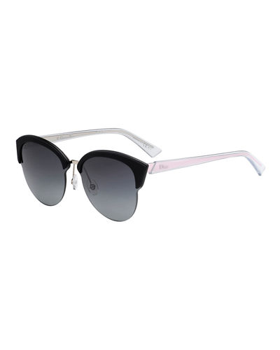 Run Capped Cat-Eye Sunglasses