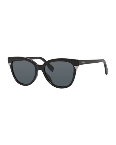 Plastic Cat-Eye Sunglasses