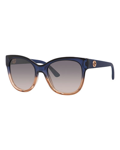 Lattice Cat-Eye Sunglasses