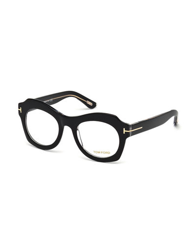 notched brow optical frames