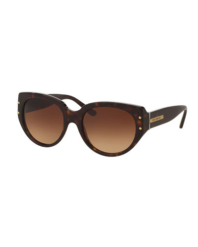 Tory Burch Rounded Square Gradient Sunglasses