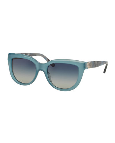 Tory Burch Gradient Cat-Eye Sunglasses
