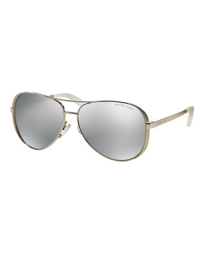 Michael Kors Polarized Aviator Sunglasses