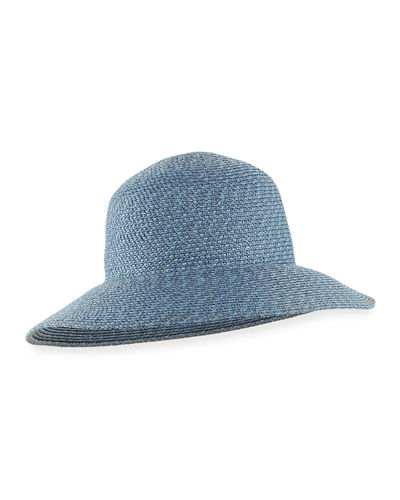 Eric Javits Squishee IV Woven Round-Dome Sun Hat