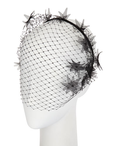 Dune Voilette Headband/Fascinator