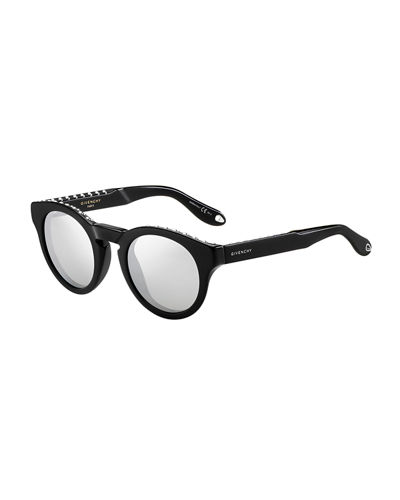 Givenchy Studded Rounded Square Sunglasses