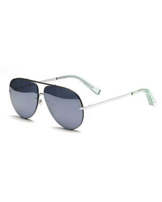 aviator mirror sunglasses  Elizabeth and James Ryder Mirrored Aviator Sunglasses