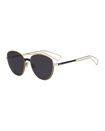 Ultra Dior Round Sunglasses