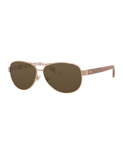 kate spade new york dalia polarized aviator sunglasses