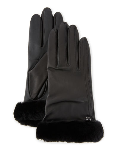 UGG Classic Leather Smart Gloves