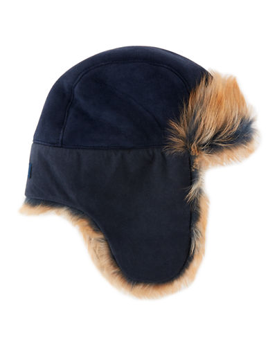 Toscana Long-Pile Fur Trapper Hat
