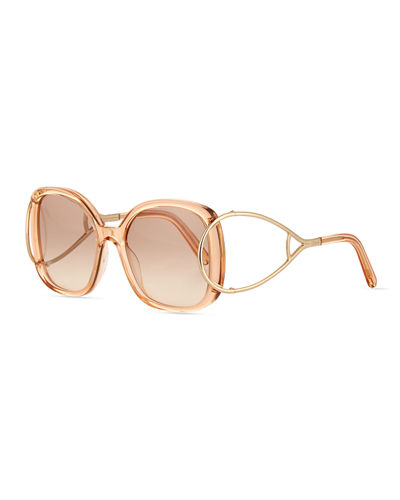 Jackson Square Oversized Sunglasses