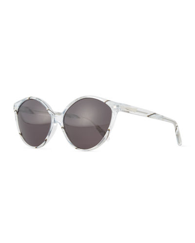 Istanbul Cat-Eye Acetate Sunglasses