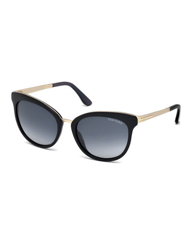 Emma Gradient Cat-Eye Sunglasses