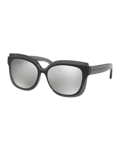 Square Mirrored Layered Sunglasses
