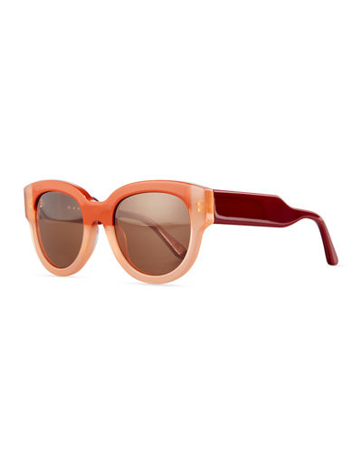 Cromo Square Two-Tone Sunglasses