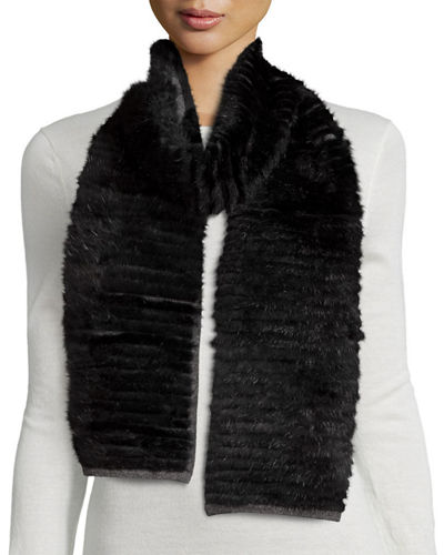 Layered Fur Scarf