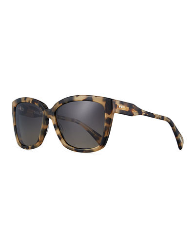 Alycia Polarized Square Sunglasses