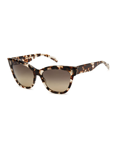 Winslett Polarized Cat-Eye Sunglasses