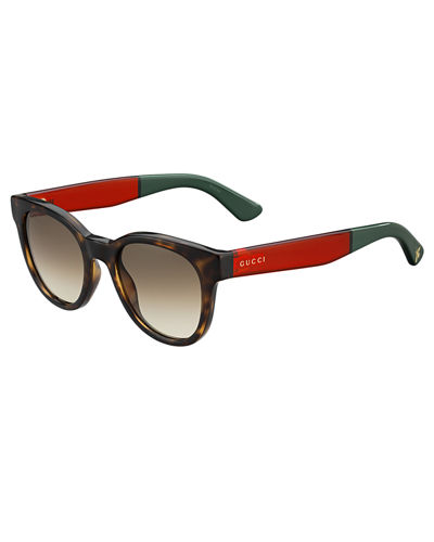 Square Gradient Colorblock Sunglasses