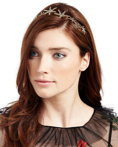 Galaxy Crystal Star Bandeau Headband