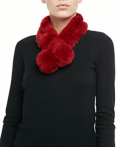 Rabbit Fur Neck Warmer