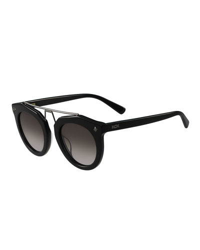 Haydn Oversized Round Sunglasses