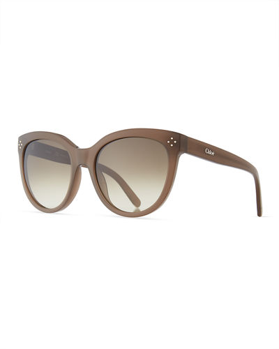 Boxwood Modified Cat-Eye Sunglasses