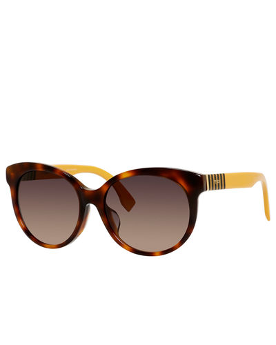 Gradient Acetate Butterfly Sunglasses