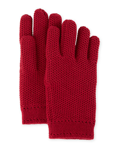 Cashmere Crochet Gloves