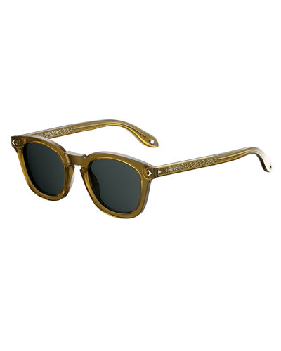 Givenchy Square Acetate Sunglasses