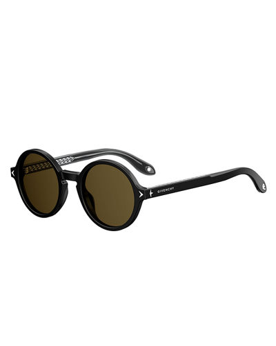 Givenchy Round Acetate Sunglasses