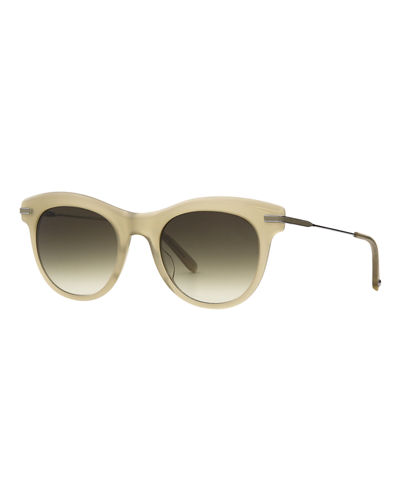 Garrett Leight Andalusia Gradient Cat-Eye Sunglasses