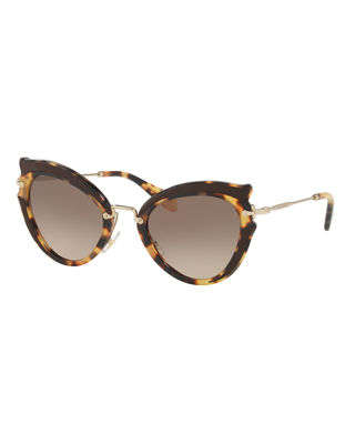designer black sunglasses  Women\u0027s Designer Sunglasses: Cat Eye at Neiman Marcus