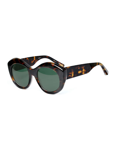 Berkeley Acetate Cat-Eye Sunglasses