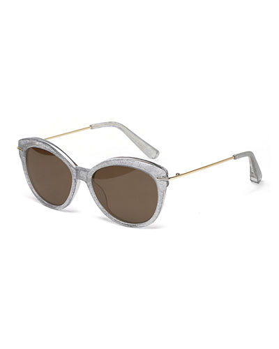 Wright Acetate Butterfly Sunglasses