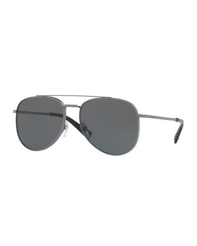 Glamtech Studded Aviator Sunglasses