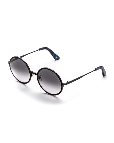 Charlie Round Metal Sunglasses