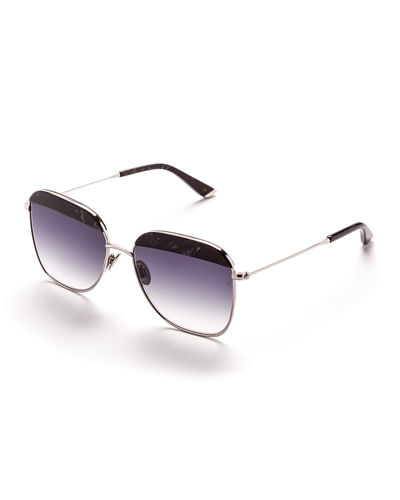 Vito Capped Square Sunglasses